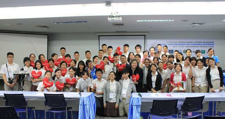 รุ่งอรุณยกระดับการเรียนรู้สู่เวทีนานาชาติในงาน ASEAN Conference