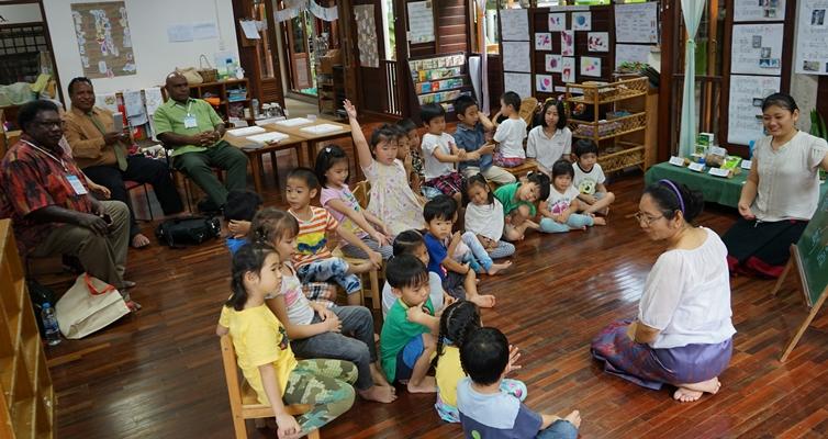 Values in Education Workshop: ปาปัวนิวกินี – รุ่งอรุณ