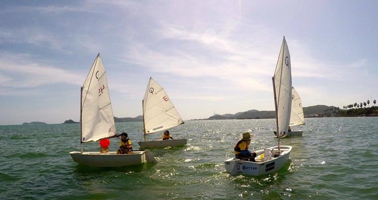 """ค่ายเรือใบครั้งที่ ๓  """"แล่นเรือใบฝึกกาย ใจก้าวข้ามความท้าทาย"""""""